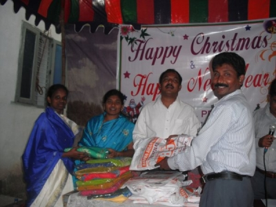 Christmas in Rajahmundri